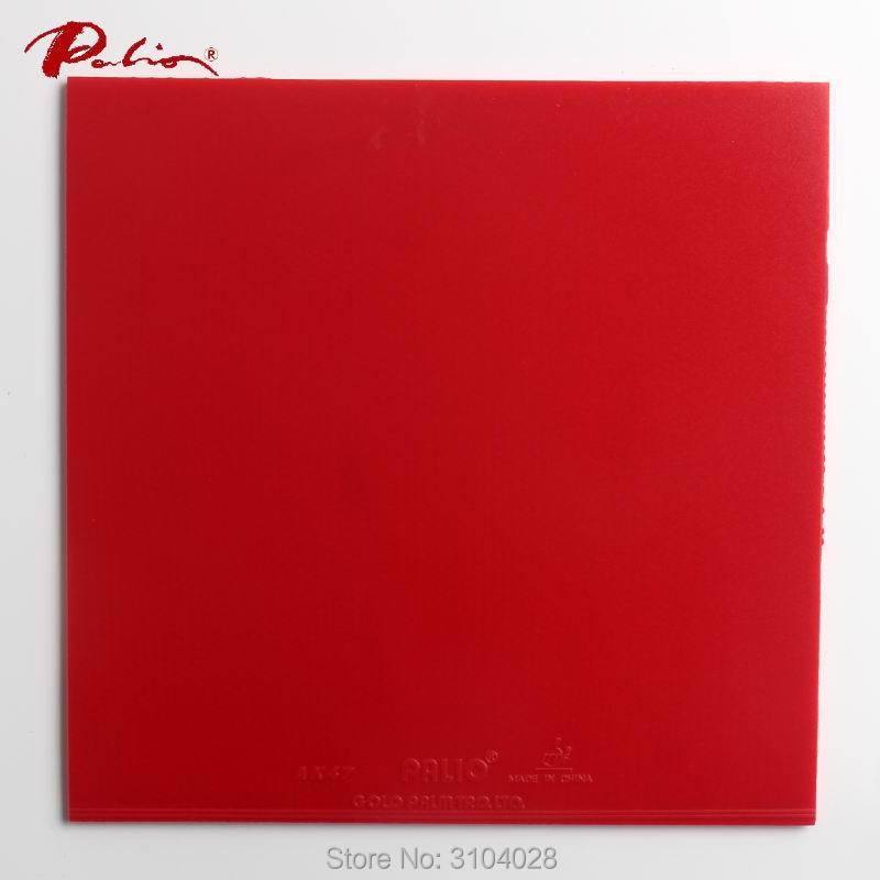 Palio resmi 40 + merah tenis meja karet Ak47 spons merah untuk - Olahraga raket - Foto 3