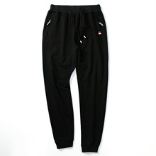 New Men's Sportwear Pants Spring Autumn Designer Solid Slim Cotton Ankle Length Sports