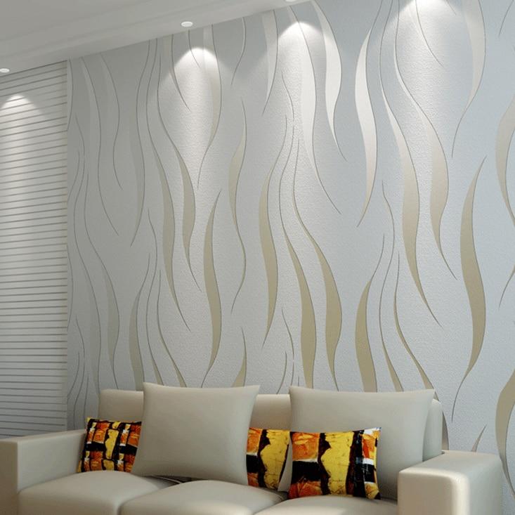graue gestreifte tapete silber vertikale gestreifte wandpapierrolle fr wnde streifen tapeten vlies papel de parede - Silber Tapete