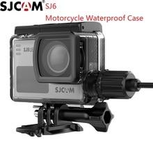 الأصلي SJCAM SJ6 أسطورة دراجة نارية مقاوم للماء الحال بالنسبة SJ6 الرياضة شحن حالة شاحن الإسكان كاميرا اكسسوارات Clownfish