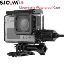SJCAM funda impermeable para motocicleta SJ6 LEGEND carcasa de carga deportiva, accesorios para cámara, pez payaso