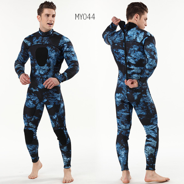 3MM Neoprene Wetsuit One-Piece and Close Body Diving Suit for Men Scuba Dive Surfing Snorkeling Spearfishing Plus Size