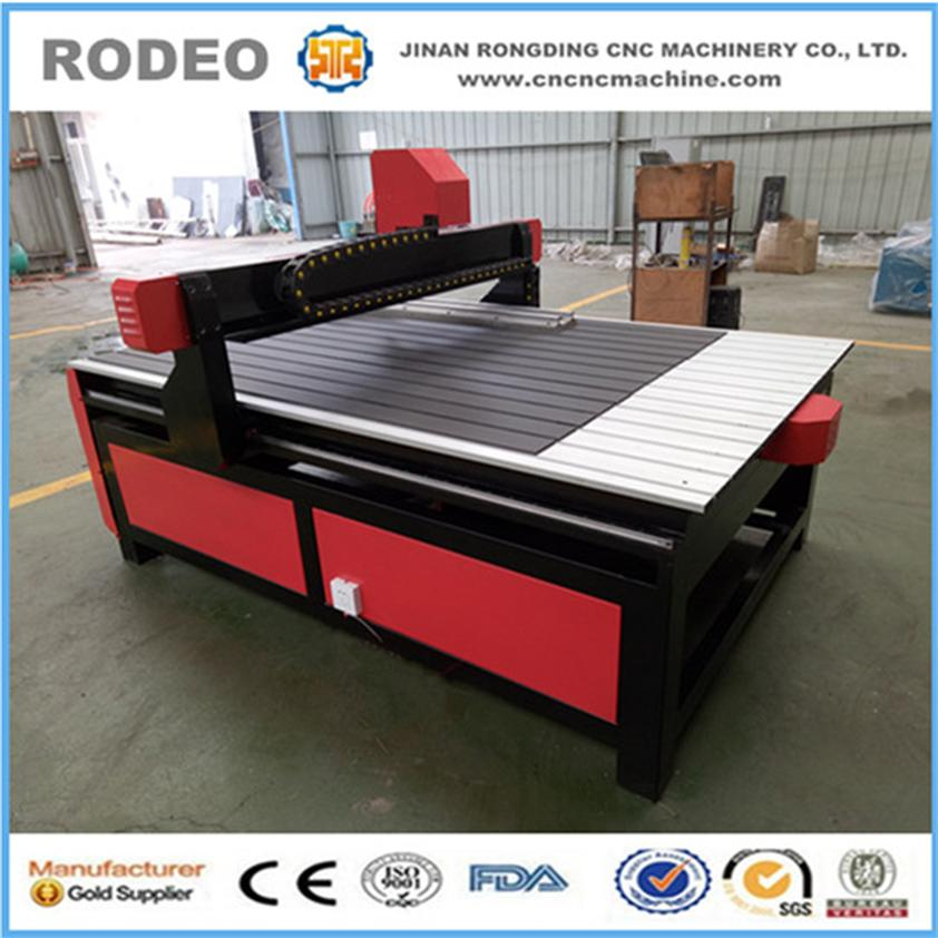 Hot model! 1224 wood cnc router with aluminum profile