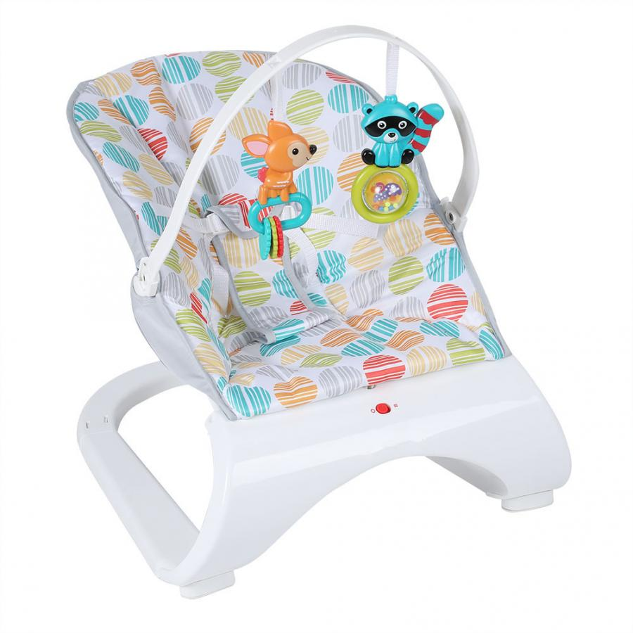 Infant Baby Rocker Electric Rocking Chair Cradle Newborn Comfort Vibration Rocking Chair Soothing The baby s Innrech Market.com