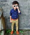 Venta caliente 2016 Marca diseñador niños cartas hebilla de cinturón cinturones de cuero de niños de la manera niñas niños Ocio correa de cintura 11 colores