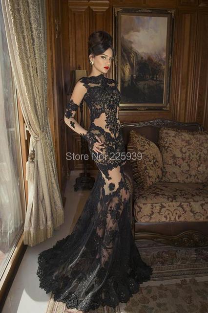 897240828a Elegante Vestido De Festa De cuello barco manga larga niza apliques  plateado con cuentas encuadre De
