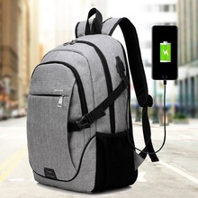 LOOZYKIT Men Backpack Bag Brand 15.6 Inch Laptop Notebook Mo