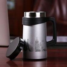 Eiffel Kaffee Tassen Wasser Thermobecher Flasche Vakuum Flaschen Glasfilter Tragbare Tassen Tassen Tee Tassen