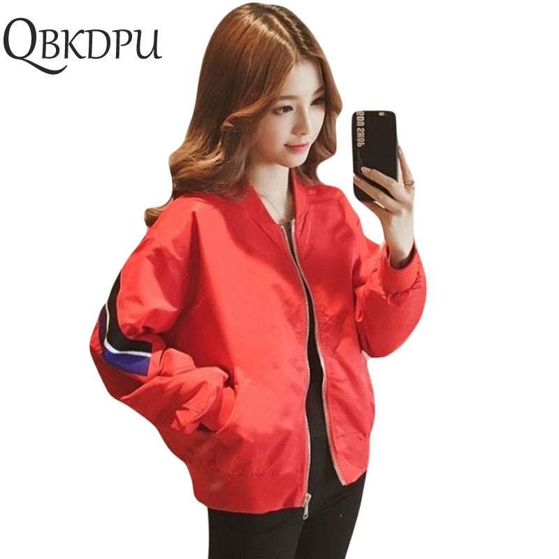 Solid Color Women   Basic     Jackets   Female Zipper Pockets Casual Long Sleeves Coats Summer Spring Hooded   Jacket   Windbreaker   Jacket