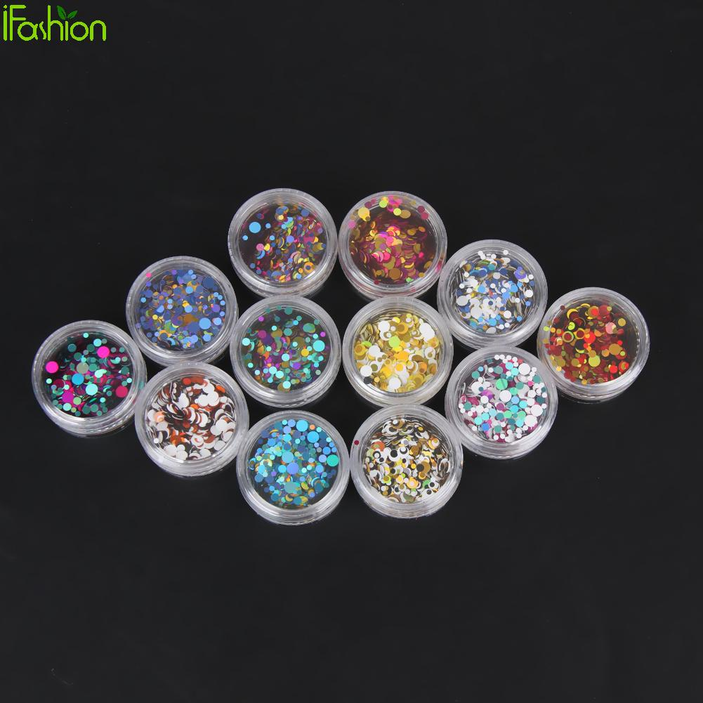 12colors nail art decorations 3d shiny acrylic nail gel for Acrylic nail decoration supplies