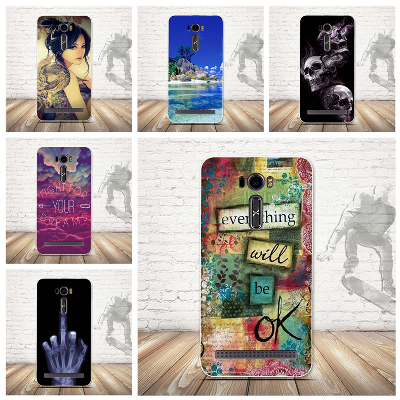 Luxury Painted <font><b>Case</b></font> for <font><b>Asus</b></font> <font><b>ZE601KL</b></font> Phone <font><b>Cases</b></font> Soft Silicon Back <font><b>Case</b></font> Cover for <font><b>Asus</b></font> Zenfone 2 Laser <font><b>ZE601kL</b></font> ZE600KL Cover TPU image
