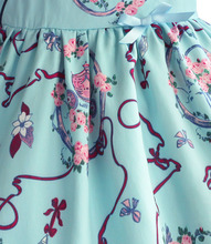 Kids Girls Dresses Chinese Floral Style Clothes 1-8T
