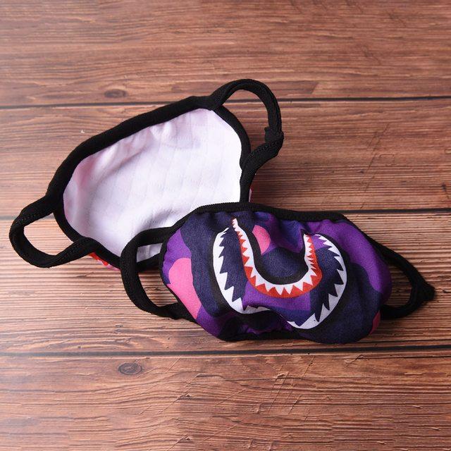1Pc Mouth Face Mask Women Men Unisex Korean Style Anti-Dust Kpop Cotton Multi-colors face Muffle Protective Cover Masks 4