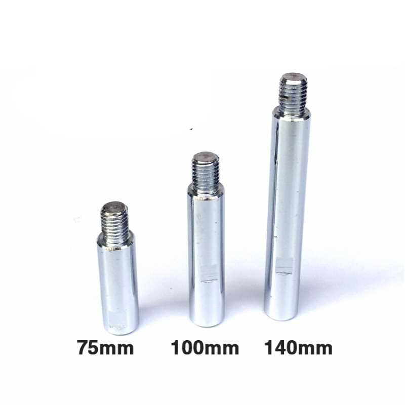 M14 Adapter Converter connection Extended rod Extender for car polisher wet grinder angle length bar