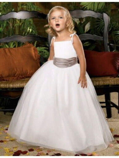 free shipping new 2015 Wedding Party   Dresses     Girl's   Pageant Gowns Princess   dresses   A-line custom white ivory   Flower     Girl     Dresses
