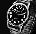Hombres nuevos relojes CYD marca Relojes Flexible correa elástica hombres de acero inoxidable de moda de lujo reloj de pulsera Analógico relojes masculinos