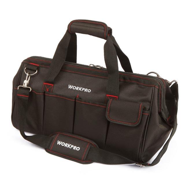 WORKPRO Borse da viaggio impermeabile Uomini Crossbody Bag strumento sacchetti sacchetto di alta capacità per Strumenti Hardware spedizione gratuita