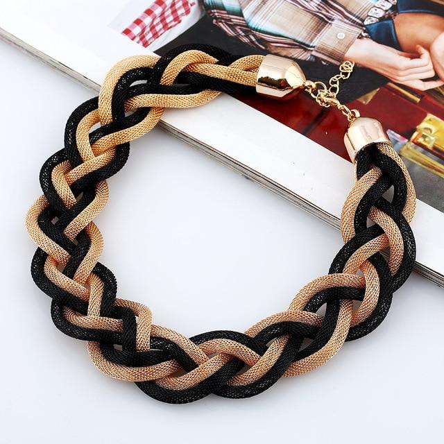 Lzhlq 2019 модное металлическое ожерелье Чокер Модные Многослойные