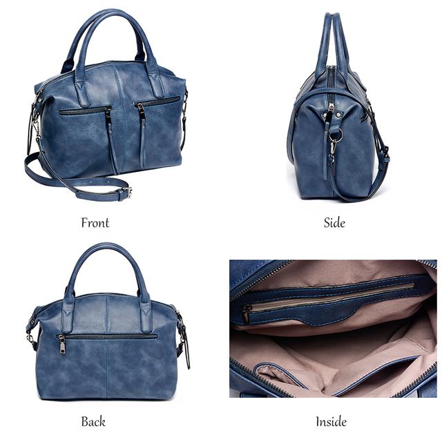 AMELIE GALANTI Women Bag Brand New Fashion with a Pillow Handbag High Quality PU Tote Bag Luxury Handbags Women Bags Designer