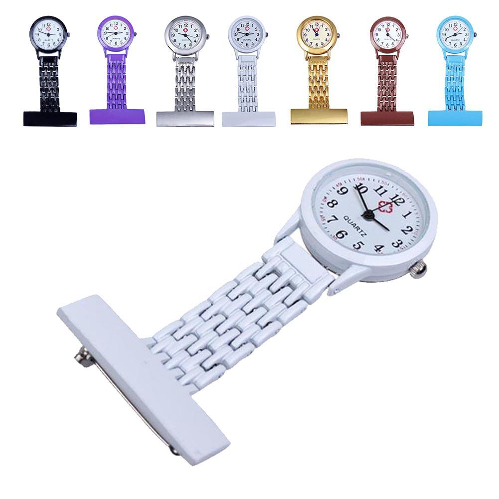 Fashion Beautiful Girls Ladies Women Nurse Watches Unisex Doctor Medical Pocket Hang Clip Watches