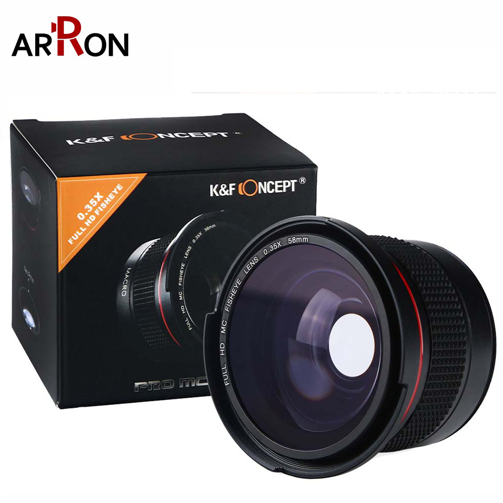 Hot 58mm Wide Angle Fisheye Camera Lens 0.35x with a Macro Lens for <font><b>Canon</b></font> EOS <font><b>700D</b></font> 650D 600D 550D 1100D Rebel T5i T4i T3i T3 T2i image