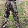 Men S Bionic Camouflage Hunting Pants Men Outdoor Fishing Pants Mens Hunting Trousers Female Forest Jungle