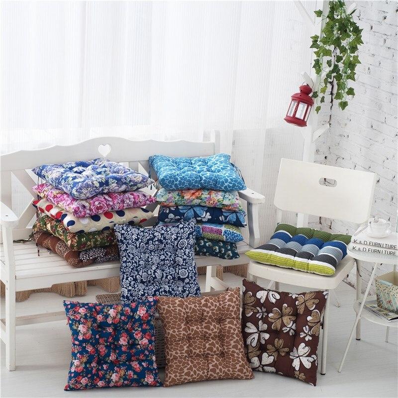 cuscino del sedile di spessore velluto a coste elastico sedia cuscino per la cucina sedia cuscino