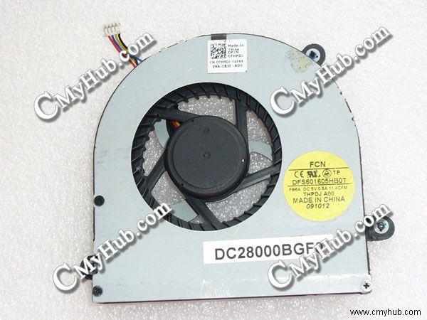 Fans & Cooling Audacious For Dell Alienware M17x R3 R4 R5 Dc5v 0.5a Gpu Cooling Fan Dfs601605hb0t Fc8j Dc28000bgf0 0fkdn8 Fkdn8 0thpdj Thpdj 04k1mm 4k1mm