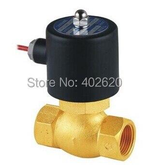 1-1/2'' Uni-D Steam Solenoid Valve PTFE US-40 2/2 Way Valves 2L400-40 DN25 high temperature solenoid valve 1 2 steam valves water valves 2 2 way solenoid valves direct acting