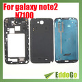 Full Housing Back Battery Case Cover For Samsung Galaxy Note 2 II N7100 Free shipping
