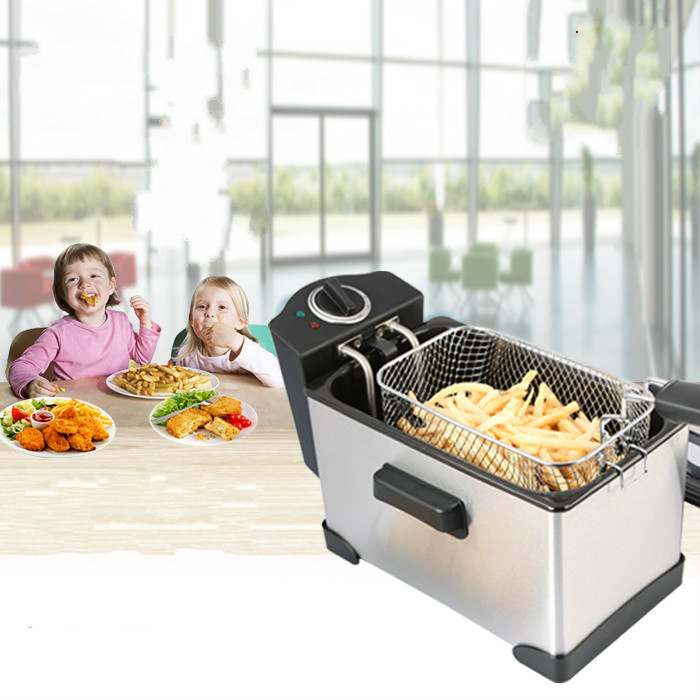 Electric Deep Fryers frying pan square oil fryer commercial separated thermostatic electricity blast furnace household.NEWElectric Deep Fryers frying pan square oil fryer commercial separated thermostatic electricity blast furnace household.NEW