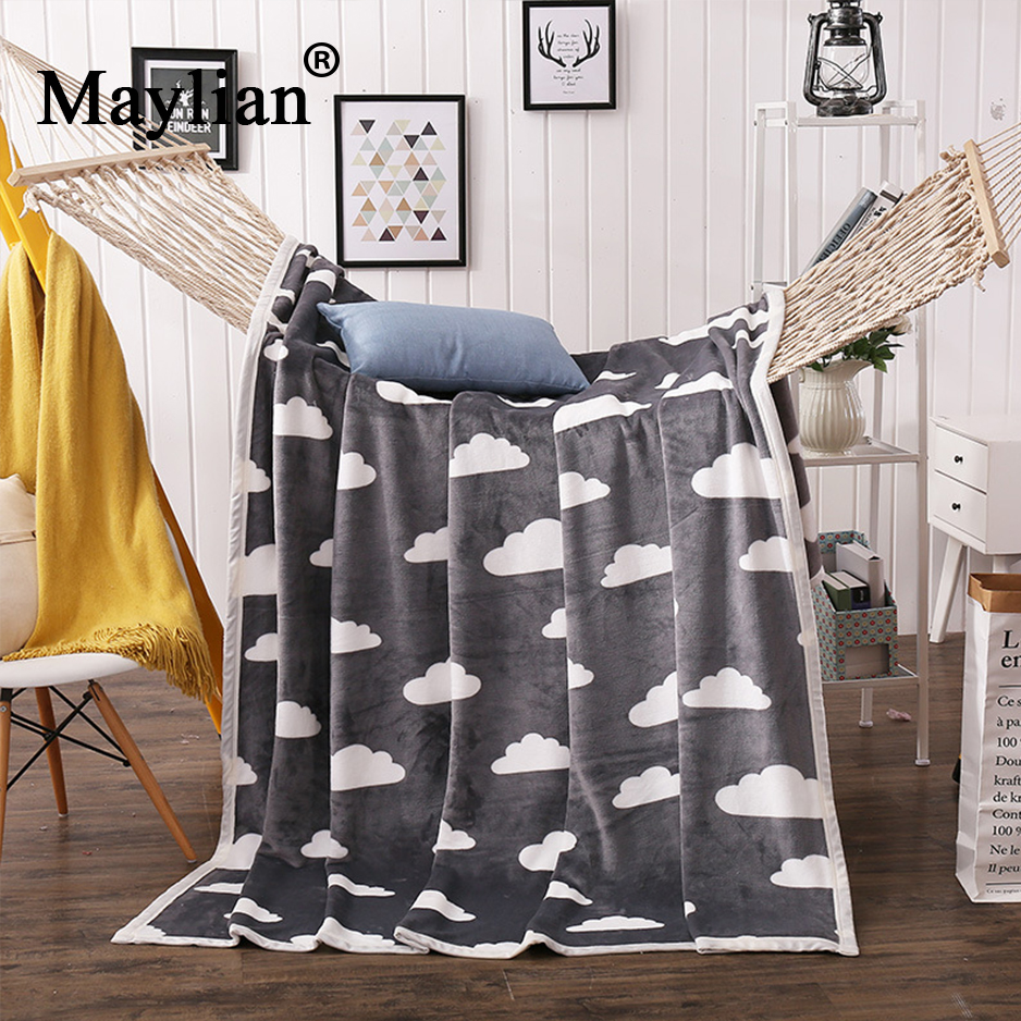 Home textile Thick warm coral fleece blanket Breathable skin-friendly multi-functional flannel blanket Factory direct BE1079