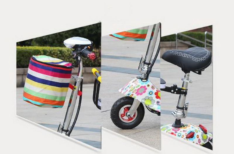 Cheap 261025/Ladies mini folding car bicycle scooter adult student portable two rounds/Scrub pedal 30-50km/h velo electrique 17