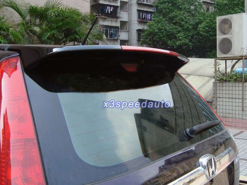 Painted ABS Spoiler Wing with LED Brake font b Light b font For 07 08 09