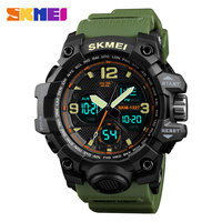 SKMEI Digital Chrono Sports Watches Men Alarm Double Time S Shock Watch Waterproof EL Light Men