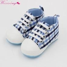 New Baby Boys Soft Cotton Fabric Anti Slip Print Shoes High Quality Newborn Toddler Fashion Active
