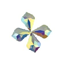 10pcs/lot AB Chandelier Crystal Pendants Lamp Parts Pendant 50mm  Maple leaf Prism  Free Shipping 10pcs lot richtek rt9365pqw rt9365 ab eg ab ej ab ec qfn 16