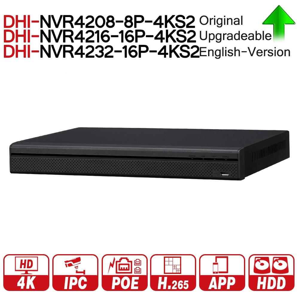 DH NVR4208-8P-4KS2 NVR4216-16P-4KS2 NVR4232-16P-4KS2 Con Porta PoE 4 k Risoluzione H.265 Per IP Sistema di Telecamere di Sicurezza