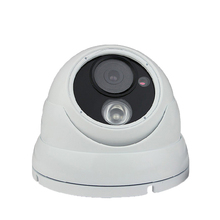 H.265 HD 5.0MP audio surveillance camera IP camera onvif P2P network infrared night vision metal hemisphere security microphone