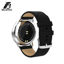 High Quality Smartwatch Strap for BELOONG Smart Watch Q8/Q9/Q13/Q3 Plus/Q3/N3 Pro Replacement Leather Wrist Watchband Men Women(China)