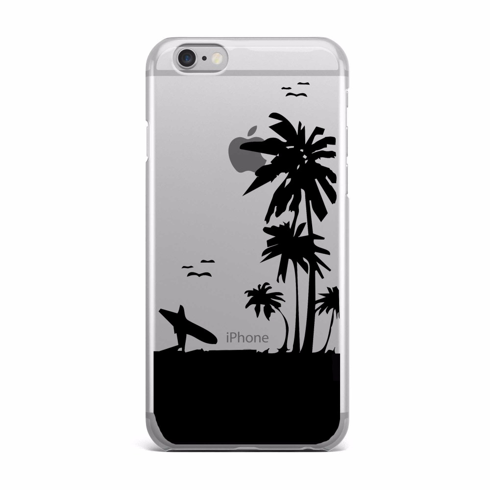Smuk Sommer in Hawaii Strand bitte Telefon Fall Für Apple iPhone 6 6 s FO-74