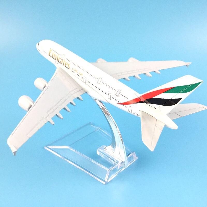 1:400 16 Cm Die Vereinigten Arabischen Emirate Airbus A380 Metall Flugzeug Modell Büro Dekoration Spielzeug Geschenk Idee Freies Verschiffen M6-039 Ohne RüCkgabe