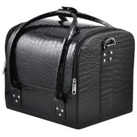 Fashion Professional Beauty Box Make Up Rose Vanity Case Cosmetic Nail Jewelry Case