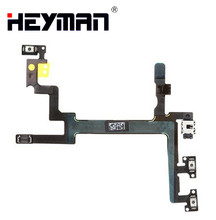 Start button Flex Cable for Apple iPhone 5 (start button side Volume buttons with components) Replacement parts cheap Heyman