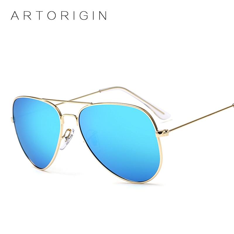 ARTOGIN, ретро стиль 80-е, мужские и женские солнцезащитные очки, фирменный дизайн, фог, зеркальные очки для вождения, Aviador Oculos De Sol, AT3025