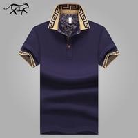 Men S Polo Shirt Style Summer Fashion Men Lapel Polo Shirts Cotton Slim Fit Polos Top