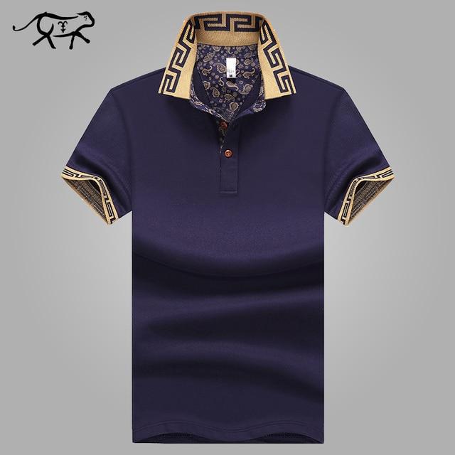 Men's Polo Shirt Style Summer Fashion Men Lapel Polo Shirts Cotton Slim Fit Polos Top Casual Camisas Masculinas Plus Size M-5XL