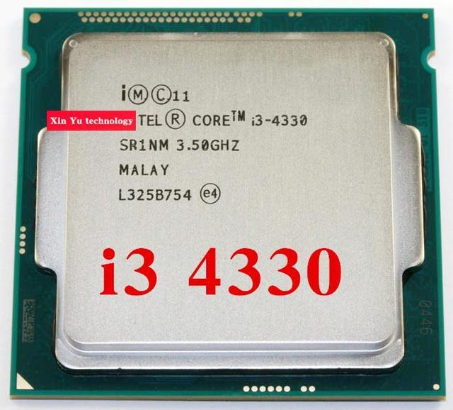Core i3 4330 3.5GHz 4M SR1NM Dual Core Four threads desktop processors Computer CPU Socket LGA 1150 pin