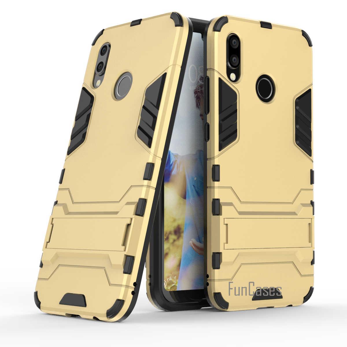 Forte Cassa Del Telefono per Huawei P20 Lite Coque Armatura Serie di Sport di Goccia Caso Capa Borsette per Huawei P20 Lite Fundas della Copertura Posteriore