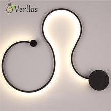 Verllas Modern led ceiling chandelier lights for living room bedroom lamparas de techo Acrylic ceiling chandelier lamp fixtures цена в Москве и Питере